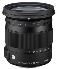 SIGMA AF 17-70/2.8-4 DC MACRO OS HSM Nikon