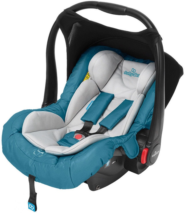 Mašīnas sēdeklis Baby Design Leo 05 Light Blue, 0 - 13 kg