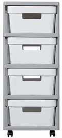 Curver Infinity Chest 4x11L White/Gray