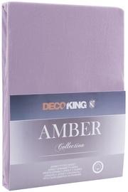 DecoKing Amber Bedsheet 140-160x200 Lavander Purple