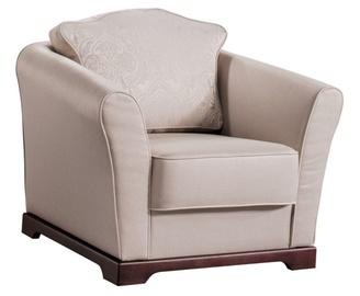 Atzveltnes krēsls Libro Loretta Beige, 94x91x86 cm