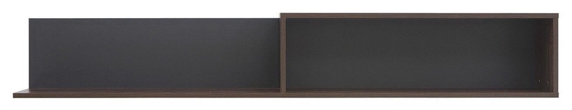 Black Red White Alhambra Shelf 162.5x25.5x22cm Right