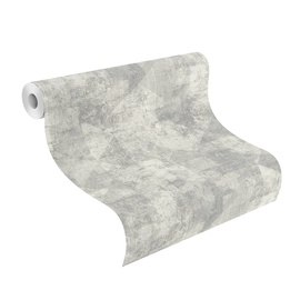 Rasch Vinyl Wallpaper Hyde Park 10x0.53m Grey 411515