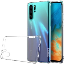 Nillkin Nature Gel Ultra Slim Back Case For Huawei P30 Pro Transparent