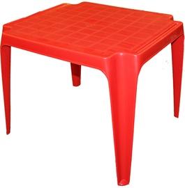 Садовый стол Progarden Baby, красный, 56 x 52 x 44 см