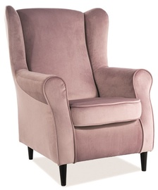 Кресло Signal Meble Baron Antique Pink, 75x80x101 см