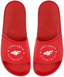 4F Women Slides H4Z20-KLD001 Red 38