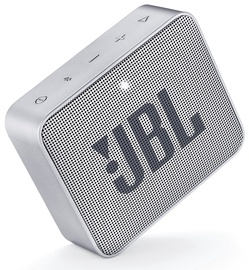 Bezvadu skaļrunis JBL Go 2 Ash Gray, 3 W