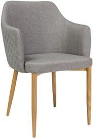 Ēdamistabas krēsls Signal Meble Astor Gray, 1 gab.