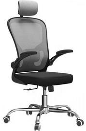 Biroja krēsls Top E Shop Dory, melna/pelēka