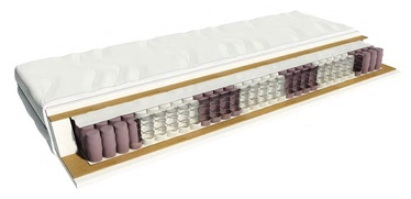 Black Red White Harmonic Medicott Mattress 90x200cm