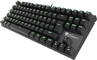 Natec Genesis THOR 300 TKL Gaming Green USB US Black