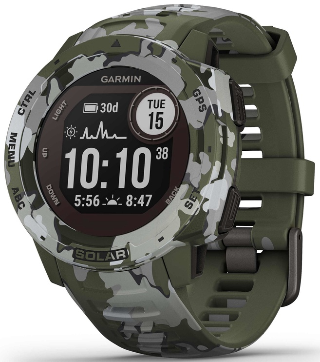 Viedais pulkstenis Garmin Instinct, zaļa