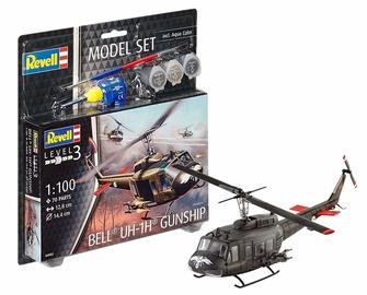 Revell Model Set Bell UH 1H Gunship 1:100 64983R