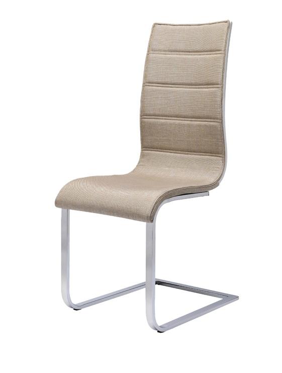 Ēdamistabas krēsls Halmar K104 Beige/White