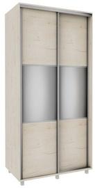 Skapis Bodzio Sliding Wardrobe, ozola, 100x60x210 cm