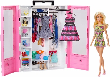 Кукла Mattel Barbie Fashionistas Ultimate Closet & Accessory GBK12