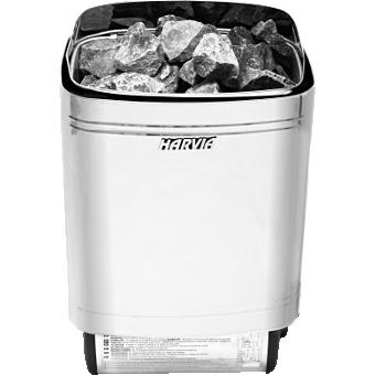 Harvia Termonator SteelTop M90 9 kW Silver