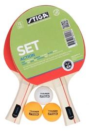 Ракетка для настольного тенниса Stiga Action Table Tennis Set 1824 01