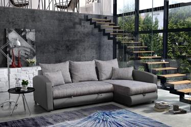 Stūra dīvāns Platan Nina 05 Grey, 235 x 172 x 95 cm