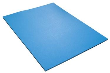 Fitnesa un jogas paklājs Yate, zila/melna, 95 cm x 70 cm x 12 mm