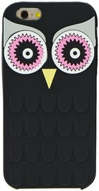 Zooky Soft 3D Back Case For Samsung Galaxy J1 J120F Owl Black