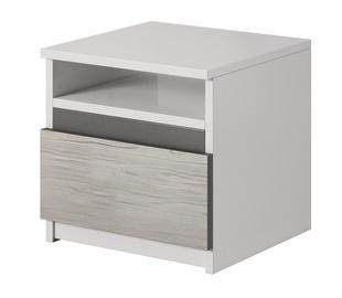Ночной столик Idzczak Meble Helios 23 White/Grey