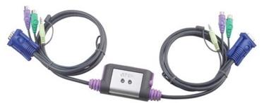 Aten CS62AZ-AA VGA x 2 / PS/2 x 2 / 3.5mm x2 Switch