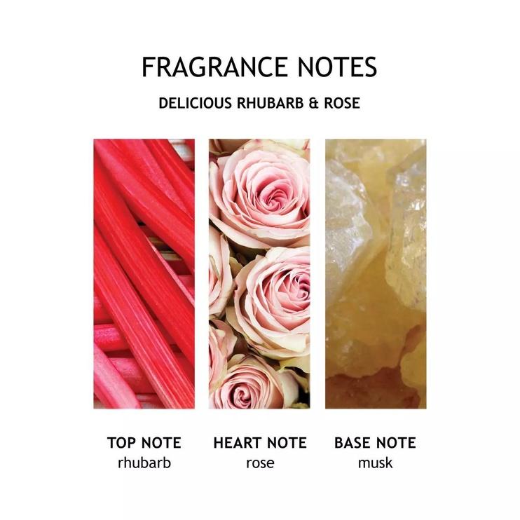 Molton Brown Fine Liquid Hand 300ml Delicious Rhubarb & Rose