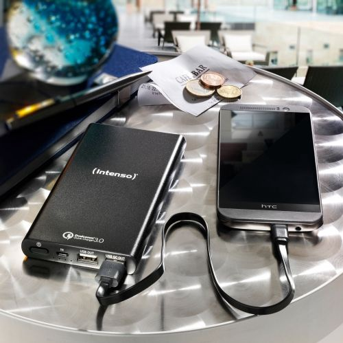 Intenso Quick Charge Power Bank 10000mAh Black