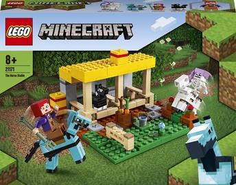 Конструктор LEGO Minecraft The Horse Stable 21171, 241 шт.
