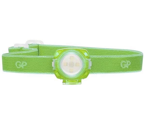 GP Batteries GPACTCH31000 Head Torchlight Green