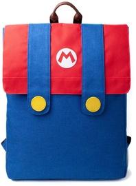Рюкзак Licenced Super Mario Bros Mario's Suit, синий/красный