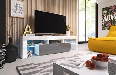 ТВ стол Cama Meble Toro 158, белый/серый, 1580x400x410 мм