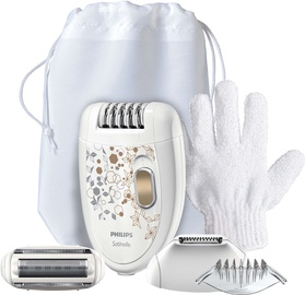 Эпилятор Philips Care Edition HP6425/01 Silver