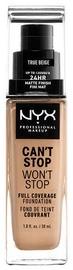 Tonizējošais krēms NYX Can't Stop Won't Stop CSWSF08 True Beige, 30 ml