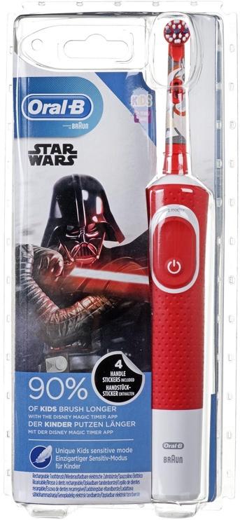 Электрическая зубная щетка Braun Oral-B Vitality 100 Starwars Red