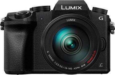 Panasonic Lumix DMC-G7 LUMIX G VARIO 14-140mm f/3.5-5.6 ASPH. POWER O.I.S. Black