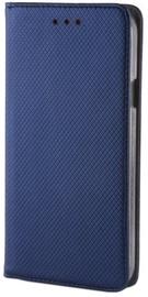 Mocco Smart Magnet Book Case For LG K10 2017 Blue