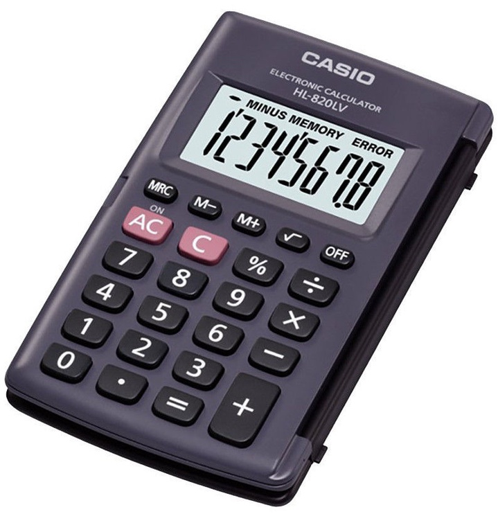 Casio Calculator HL-820LV-BK