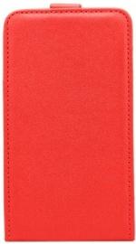 Telone Shine Vertical Book Case For LG K4 K120E/K130 Red