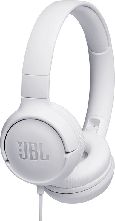 Austiņas JBL Tune 500 White