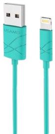 Usams U-GEE USB To Apple Lightning Cable 1m Green
