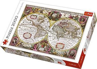 Пазл Trefl Map Of The Entire Earth, 2000 шт.