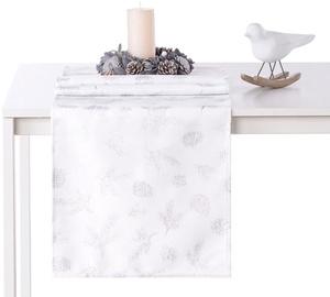AmeliaHome Magic Night AH/HMD Tablecloth Silver 30x100cm