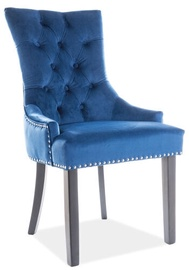 Signal Meble Edward Velvet Chair Navy Blue