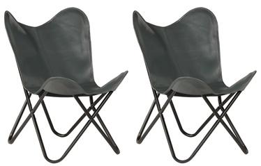 Bērnu krēsls VLX Butterfly 279530, pelēka, 560 mm x 760 mm