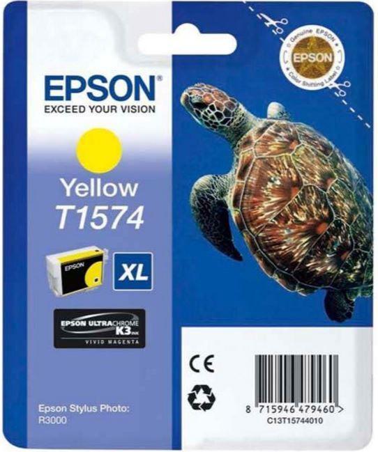 Epson T1574 Cartridge Yellow