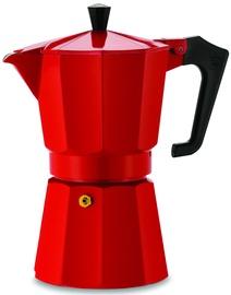 Pezzetti Italexpress Espresso Coffee Maker Red 6 Cups