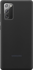 Samsung Silicone Back Case For Samsung Galaxy Note 20 Black